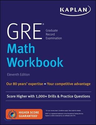 GRE Math Workbook, 11/E