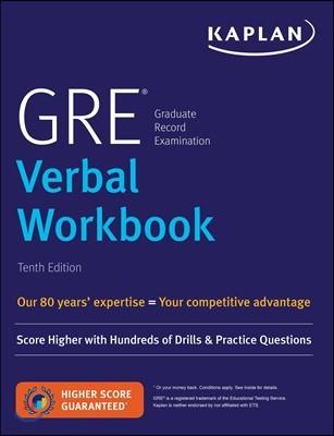 GRE Verbal Workbook, 10/E