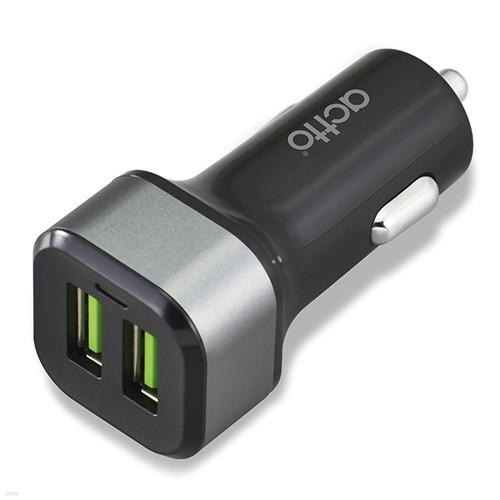 엑토 QC 3.0 듀얼 차량용 2구 충전기 CCU-16