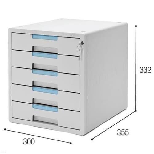 [시스맥스] 서류함 시스템2 1205K K5단(KEY)