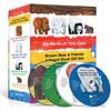 [노부영]에릭칼 Bear 보드북 4종 세트 (Board Book & CD Set)