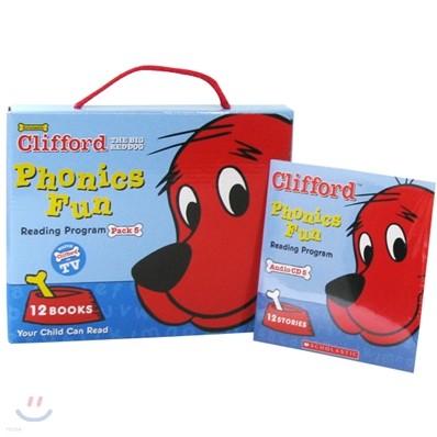 Clifford's Phonics Fun Box Set #5
