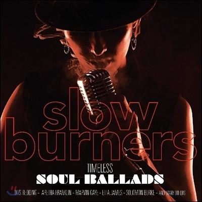 소울 음악 모음집 (Slow Burners - Timeless Soul Ballads) [LP]