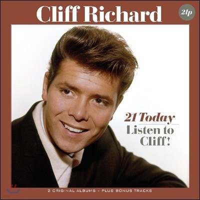 Cliff Richard (클리프 리처드) - 21 Today / Listen to Cliff! [2 LP]