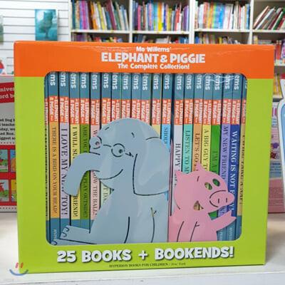 모 웰렘스 엘리펀트 앤 피기 원서 25종 세트 Elephant & Piggie The Complete Collection