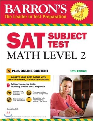Barron's SAT Subject Test : Math Level 2, 13/E