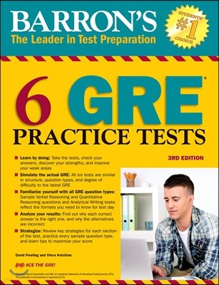 Barron's 6 GRE Practice Tests, 3/E