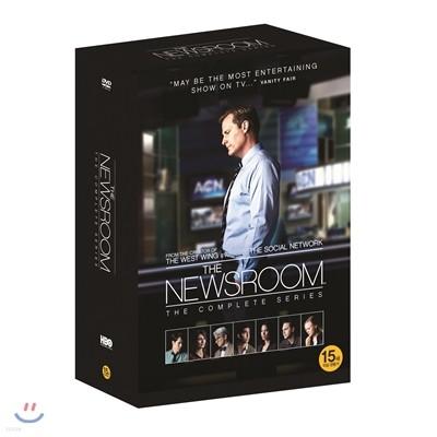 뉴스룸 시즌 1-3 풀박스 (9Disc 아웃박스 한정판)