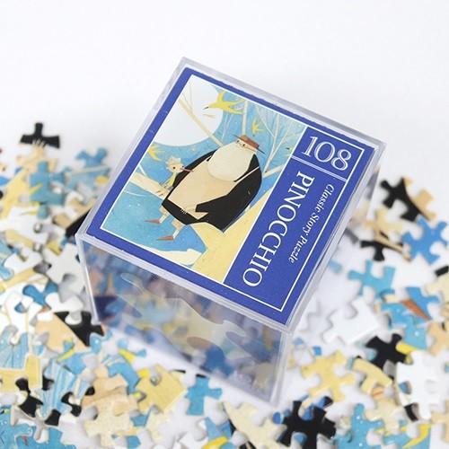 인디고 미니 퍼즐 108피스-피노키오