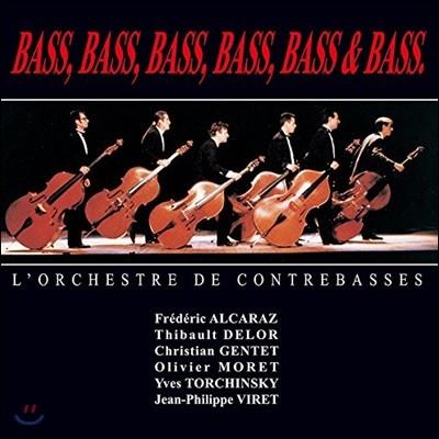 L'Orchestre de Contrebasses 6대의 콘트라베이스 연주집 (Bass, Bass, Bass, Bass, Bass & Bass) [2LP]