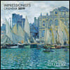 National Gallery - Impressionists - mini wall calendar 2019