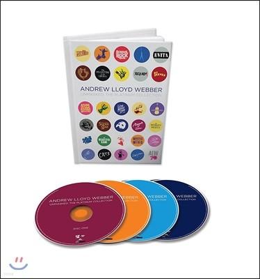 앤드류 로이드 웨버 뮤지컬 음악 모음집 (Andrew Lloyd Webber - Unmasked: The Platinum Collection) [4CD Box Set]