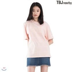 [TBJ]유니 싱글 핀스트라이프 티셔츠(T182TS009P)