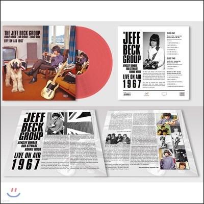Jeff Beck Group - Live On Air 1967 제프 벡 1967년 BBC 라이브 [레드 컬러 LP]