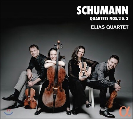 Elias Quartet 슈만: 현악 사중주 2번, 3번 - 엘리아스 사중주단 (Schumann: String Quartets Op.41 Nos.2 & 3)