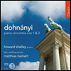 ���峪�� : �ǾƳ� ���ְ� (Dohnanyi : Piano Concertos Nos. 1 & 2) - Howard Shelley