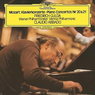 모차르트 : 피아노 협주곡 20, 21번 (Mozart : Piano Concertos Nos.20-21) (180G)(LP) - Friedrich Gulda