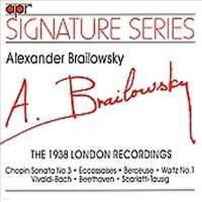 Alexander Brailowsky - 1938 London HMV Recording - Alexander Brailowsky