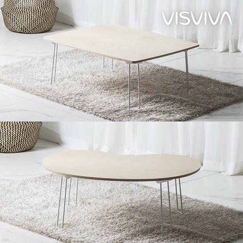 [비스비바] 에코 자작나무 테이블 2종 택1
