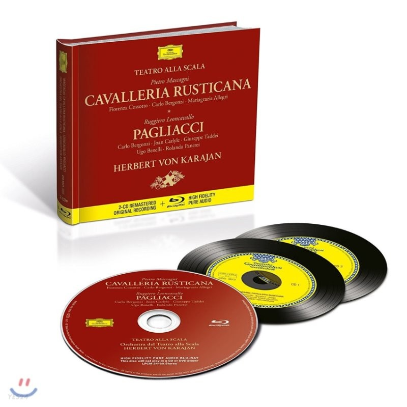 Herbert von Karajan 마스카니: 카발레리아 루스티카나 / 레온카발로: 팔리아치 - 카라얀 (Mascagni: Cavalleria Rusticana / Leoncavallo: Pagliacci)