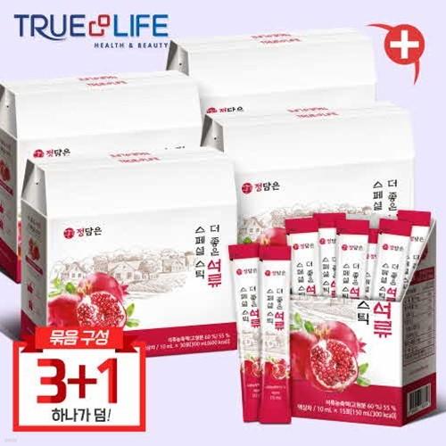 TNL뉴트리션 정담은 더좋은 석류 스페셜스틱 4박스 (총 120포)