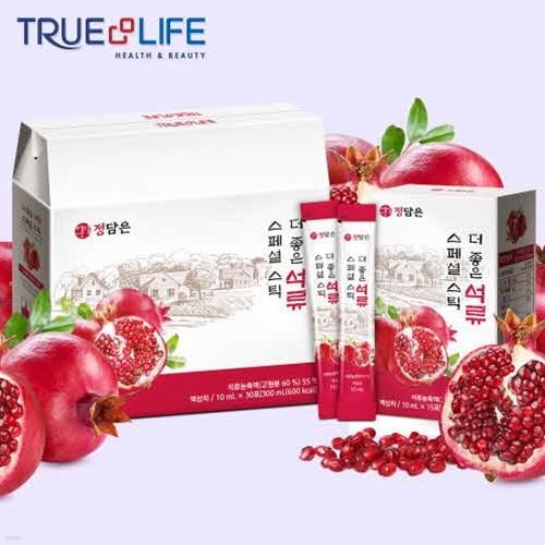 TNL뉴트리션 정담은 더좋은 석류 스페셜스틱 1박스 (30포)