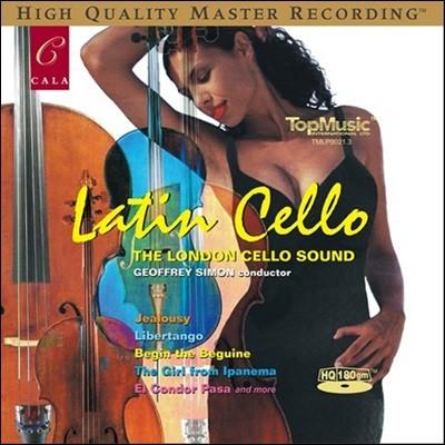 London Cello Sound 런던 첼로 사운드 - 라틴 첼로 (Latin Cello) [LP]