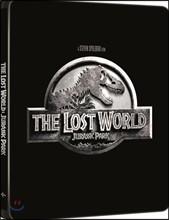 [Blu-ray] 쥬라기공원 2 : 잃어버린 세계  (2Disc 4K UHD 스틸북 한정수량) : 블루레이