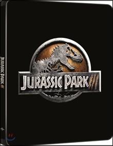 [Blu-ray] 쥬라기공원 3 (2Disc 4K UHD 스틸북 한정수량) : 블루레이
