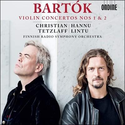 Christian Tetzlaff / Hannu Lintu 바르톡: 바이올린 협주곡 - 크리스티안 테츨라프 (Bartok: Violin Concertos Nos. 1 & 2)