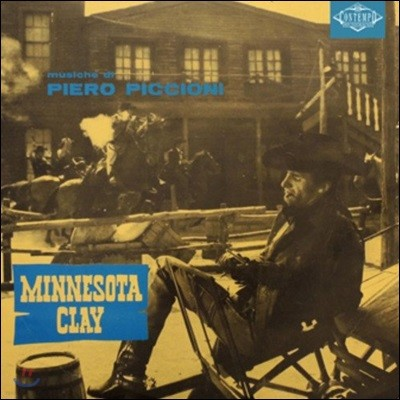 미네소타 클레이 영화음악 (Minnesota Clay OST by Piero Piccioni 피에로 피치오니) [LP]