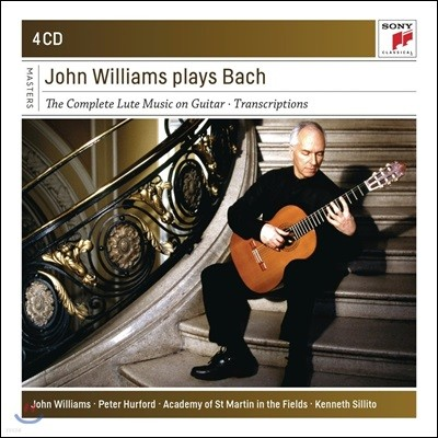 John Williams 존 윌리암스 - 바흐: 기타로 연주하는 류트 음악 전곡 외 (J.S. Bach: Complete Lute Music on Guitar)