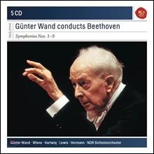 Gunter Wand 귄터 반트가 지휘하는 베토벤 교향곡 1-9번 전집 (Beethoven: Complete Symphonies)