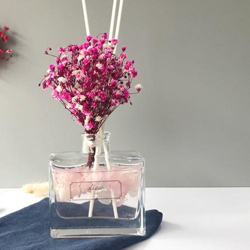 안개&수국 블라썸A 사각 디퓨저(핑크)