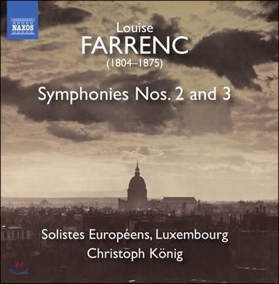 Christoph Konig 루이즈 파랭: 교향곡 2 & 3번 (Farrenc: Symphonies Op.35 & Op.36)