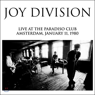 Joy Division - Live At The Paradiso Club, Amsterdam, Jan 11, 1980 조이 디비전 1980년 암스테르담 라이브 [LP]