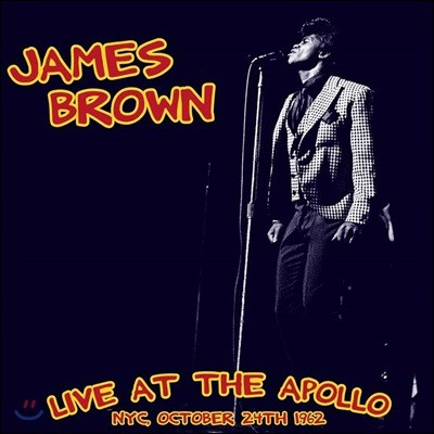 James Brown (제임스 브라운) - Live At The Apollo 1962 [Limited Edition LP]