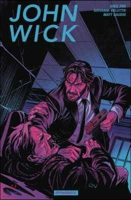 John Wick Vol. 1 : 키아누 리브스 주연 영화 '존 윅' 그래픽 노블
