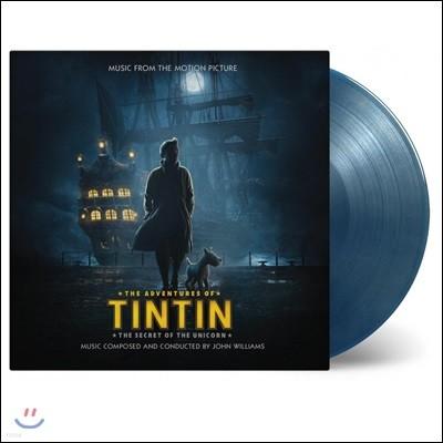 틴틴의 모험: 유니콘호의 비밀 영화음악 (TinTin: The Secret of the Unicorn OST by John Williams) [블루 & 골드 컬러 2 LP]