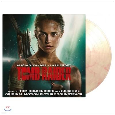 툼 레이더 영화음악 (Tomb Raider OST by Tom Holkenborg aka Junkie XL) [투명 & 레드 믹스 컬러 2 LP]