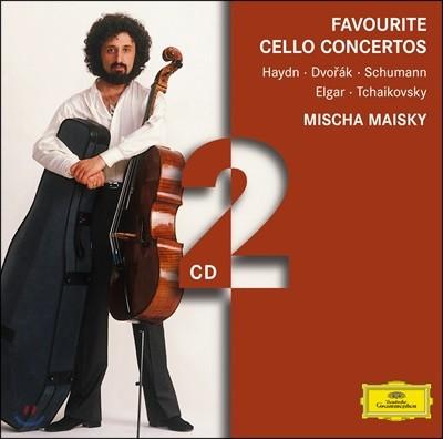 Mischa Maisky 미샤 마이스키 첼로 협주곡 모음집 - 하이든 / 드보르작 / 슈만 / 엘가 / 차이코프스키 (Favourite Cello Concertos)