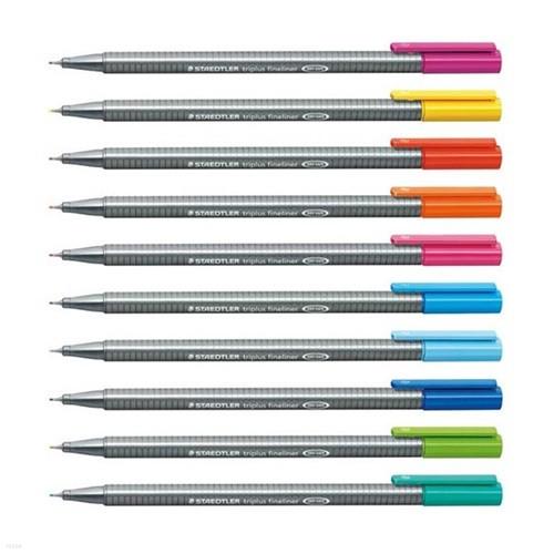 스테들러 트리플러스 화인라이너 334 낱색 선택구매