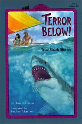 All Aboard Reading Level 3 : Terror Below!