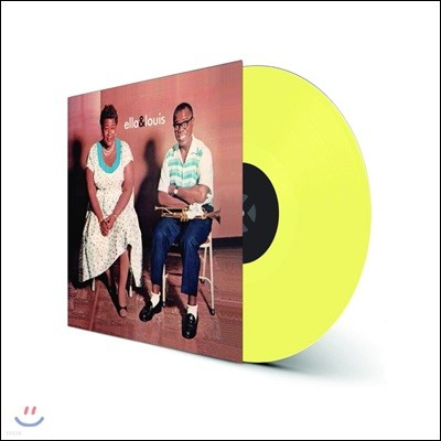 Ella Fitzgerald / Louis Armstrong (엘라 피츠제럴드 / 루이 암스트롱) - Ella & Louis [옐로우 컬러 LP]