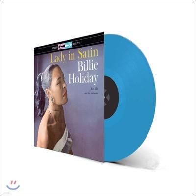 Billie Holiday (빌리 홀리데이) - Lady In Satin [블루 컬러 LP]