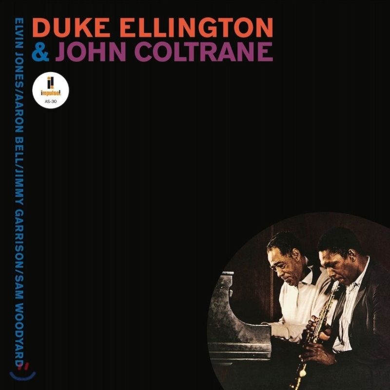 Duke Ellington & John Coltrane (듀크 엘링턴 & 존 콜트레인) - Duke Ellington & John Coltrane [투명 퍼플 컬러 LP]
