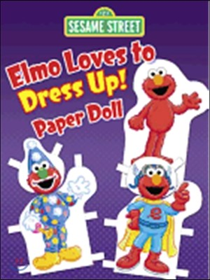 Elmo Loves to Dress Up! Paper Doll