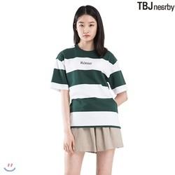 [TBJ]유니 미니쮸리 스트라이프 티셔츠(T182TS080P)