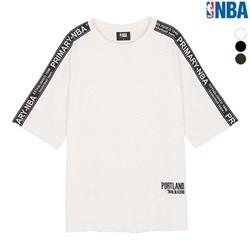 [NBA]ORL MAGIC 테이프배색 포켓 루즈핏 티셔츠(N182TS113P)