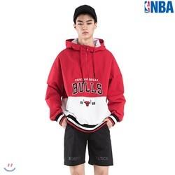[NBA]CHI BULLS 오버핏 팀로고 아노락(N182JP151P)